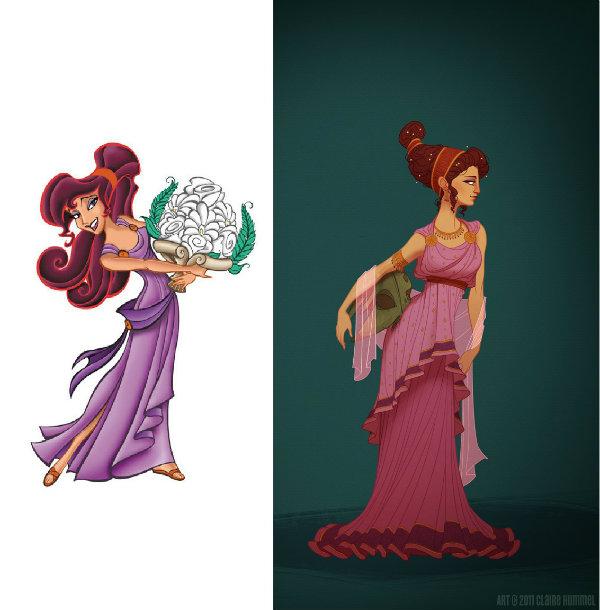 Noticia princesas disney c mo se ver an acorde a su poca for Muebles de princesas disney