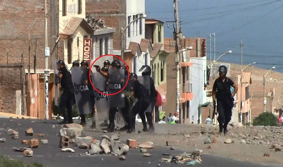 Post Ta Mara fotos prueban que policas usaron armas de fuego