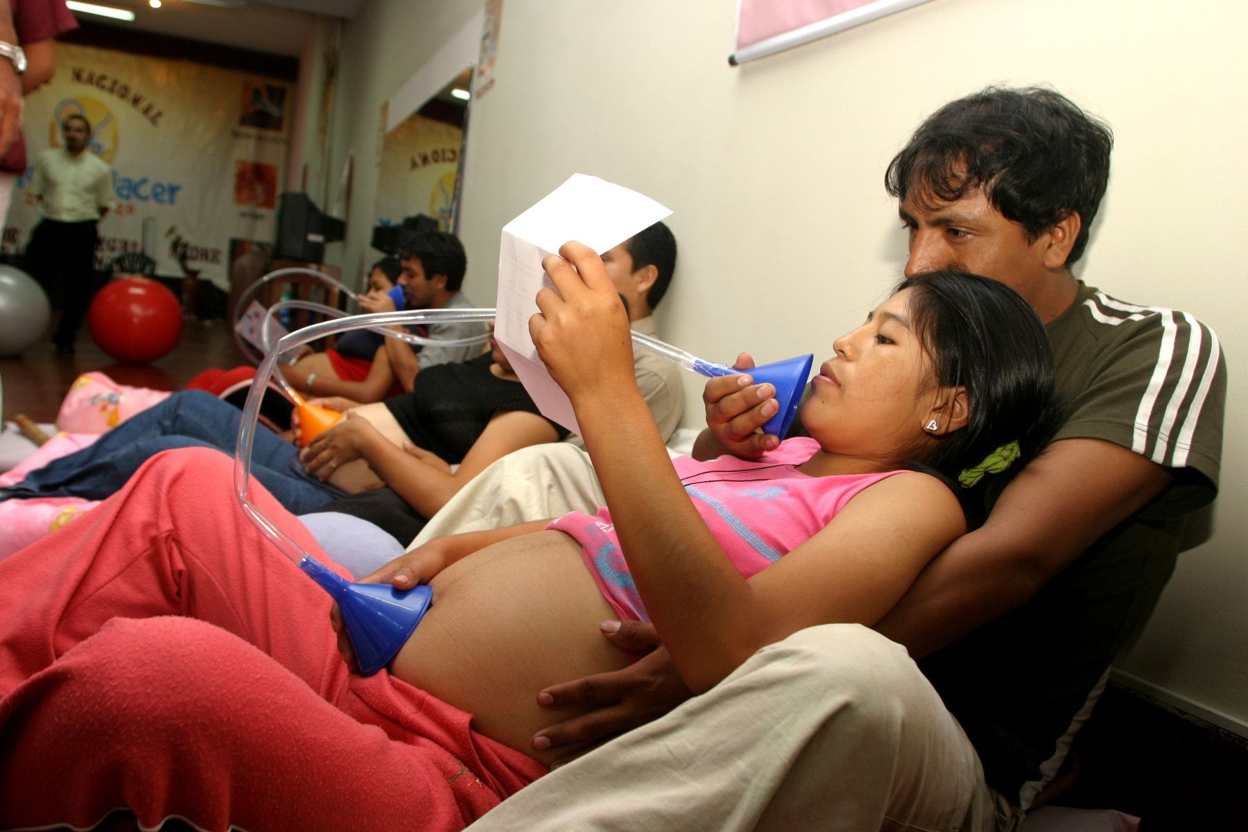 Apoyo a 4 adolescentes embarazadas