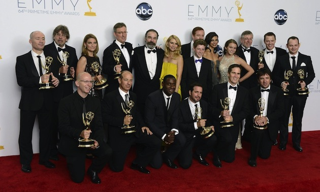 Homeland destrona a Mad Men en los Emmy 2012