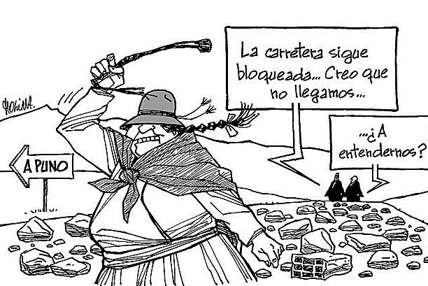 Peru pais minero, dicen (8): Mentiras, son todas mentiras