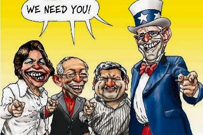 El circo parlamentario (5): Los ppkandidatos