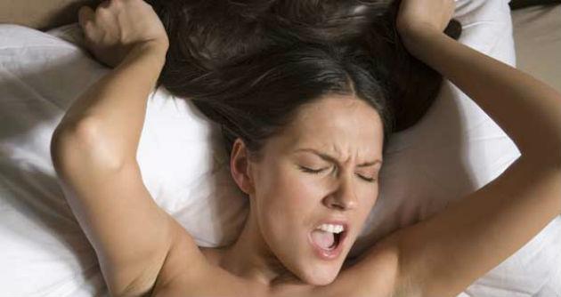 Оргазм до истерики видео
