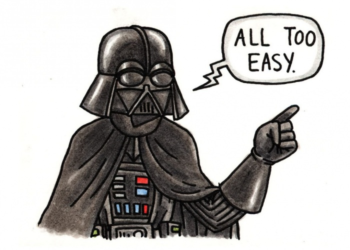 How To Draw Darth Vader For Kids
