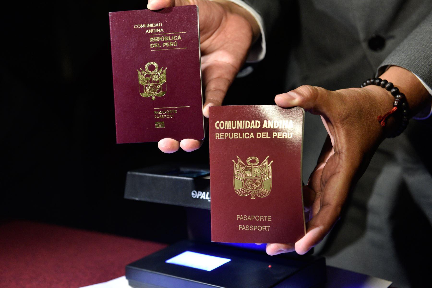 Vas A Viajar Al Extranjero La Sre Emite: Post: Pasaportes Mecanizados Y Electrónicos Son Igual De