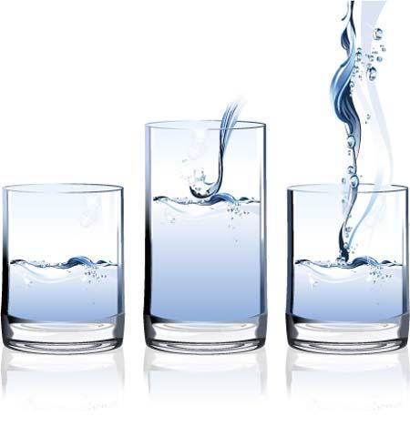 Dibujos de vasos de agua - Imagui