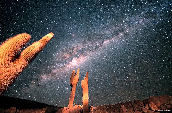 Post: ¿De qué color es nuestra galaxia la Vía Láctea?