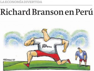 La economía imperfecta: Richard Branson en Perú - Abril 2013