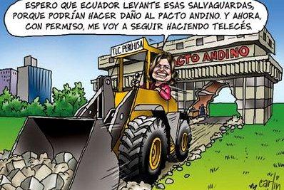 El circo parlamentario (15): El partido oficialista y el Grupo Andino