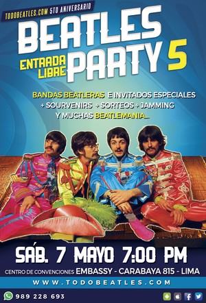 BEATLES PARTY 5 - TRIBUTO A THE BEATLES