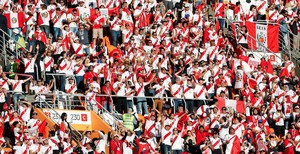 Perú, local en el Mordavia Arena