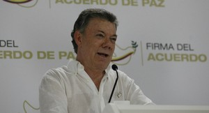 "Juan Manuel Santos: ""Una Colombia maravillosa es posible"" [VIDEO]"