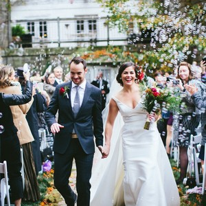 Wedding of the Week: Hayley Anderson and Dan Galstaun