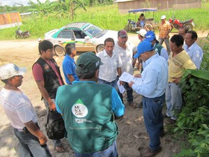 AUTORIDAD LOCAL DEL AGUA EN HONORIA